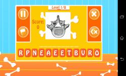 Human Bones Quiz screenshot 1/5