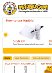 MadBid Application screenshot 1/1