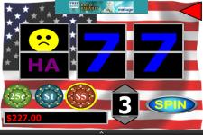 Patriot Sevens Slot Machine screenshot 2/3