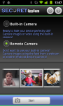 SECuRET SpyCam DEMO screenshot 1/6