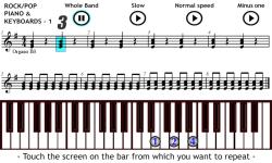 Play Rock on Piano and Keyboards 1 screenshot 1/4