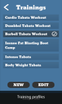 Weight Tracker and Crossfit timer screenshot 3/6