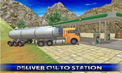 Off Road Oil Truck Driving screenshot 3/5