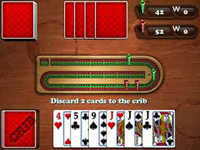 Aces Cribbage Blackberry screenshot 1/1