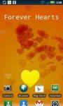 Magic Touch Hearts Live Wallpaper screenshot 2/4