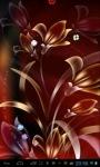 Glitter Flowers lwp screenshot 2/4