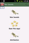 War Sounds Battle Soundboard screenshot 1/3