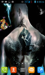 Man Tattoo Live Wallpaper Free screenshot 1/4