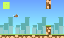 Cute Flying Poo screenshot 1/6
