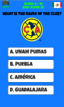 Mexico Football Logo Quiz screenshot 3/5