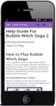 Help Guide For Bubble Witch Saga 2 screenshot 1/4