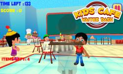 Kids Cafe Waiter Dash screenshot 1/6