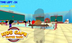 Kids Cafe Waiter Dash screenshot 4/6