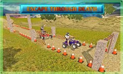 Quad Bike Escape Driving screenshot 2/4