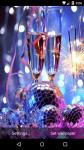 Beautiful New Year Live Wallpaper HD screenshot 5/6
