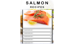 Salmon recipe screenshot 1/3