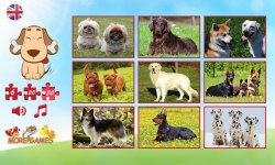 Dog puzzle screenshot 2/6