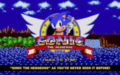 Sonic The Hedgehog smart screenshot 1/6