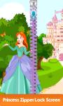 Princess Zipper Lock Screen Free screenshot 1/6