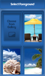 Beach Zipper Lock Screen Free screenshot 3/6
