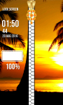 Beach Zipper Lock Screen Free screenshot 4/6