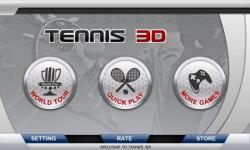 3D Tennis all screenshot 2/6