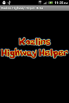 Kozlins Highway Helper screenshot 1/6