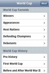World Cup Factoids and History FREE screenshot 1/1