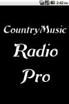 CountryMusic Radio  Pro screenshot 1/3