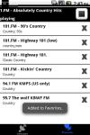CountryMusic Radio  Pro screenshot 3/3