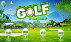 Golf Championship II screenshot 1/4