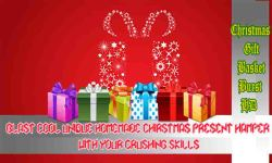 Christmas Gift Basket Burst HD  Crush Xmas Present screenshot 1/6