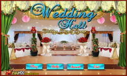 Free Hidden Object Games - Wedding Hall screenshot 1/4