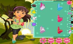 Dora The Explorer Girl screenshot 1/4