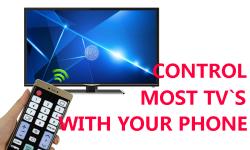 Universal TV Remote Control screenshot 1/3