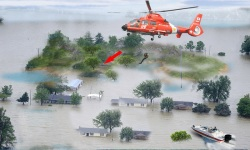 Army Helicopter Flood Rescue screenshot 1/2