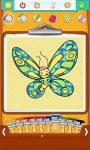Free Butterfly Coloring Pages  screenshot 2/5