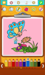 Free Butterfly Coloring Pages  screenshot 3/5