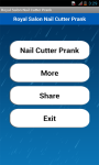 Royal Salon Nail Cutter Prank screenshot 1/4