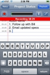 AudioNote - Notepad and Voice Recorder screenshot 1/1