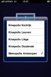 Kinepolis screenshot 1/1