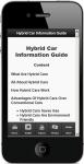 Hybrid Car Information screenshot 5/5