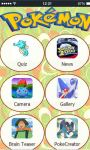 Pokemon Quiz  All you need to know about Pokemon screenshot 1/1