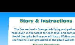 Flying Sponge Bob screenshot 2/4