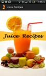 Fruit and vegetable juice recipes  screenshot 1/4