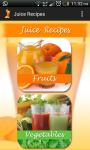 Fruit and vegetable juice recipes  screenshot 2/4