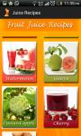 Fruit and vegetable juice recipes  screenshot 3/4