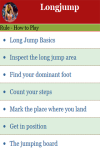 Rules to play Long jump screenshot 2/3