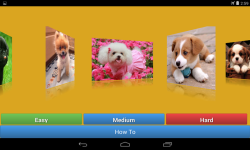 Dogs jigsaw puzzle game	 screenshot 2/6