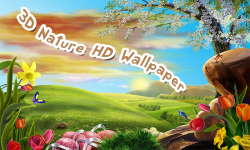 3D Nature HD Wallpaper screenshot 2/6